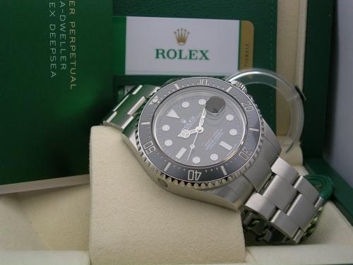 ROLEX SEADWELLER RED 126600 2018