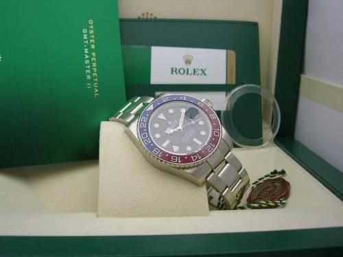 ROLEX GMT-MASTER II 116719BLRO 2015