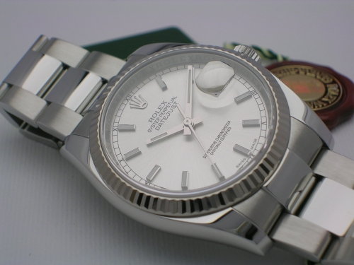 ROLEX DATEJUST 126234 2010 SILVER DIAL