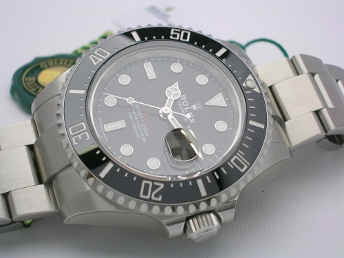 ROLEX SEADWELLER RED 126600 2017 MARK I