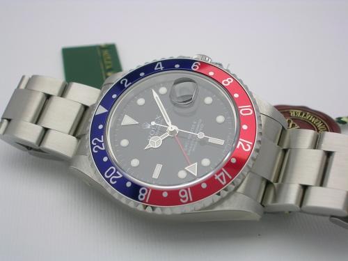 ROLEX GMT-MASTER II 16710 2007 NOS
