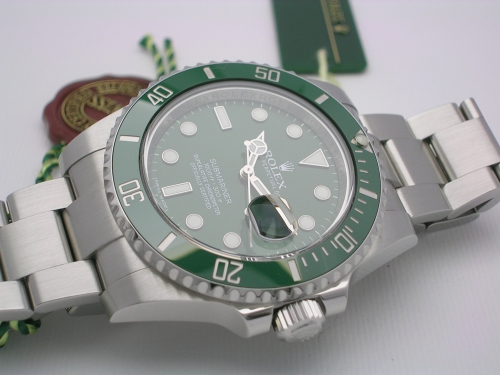 ROLEX SUBMARINER 116610LV 2014