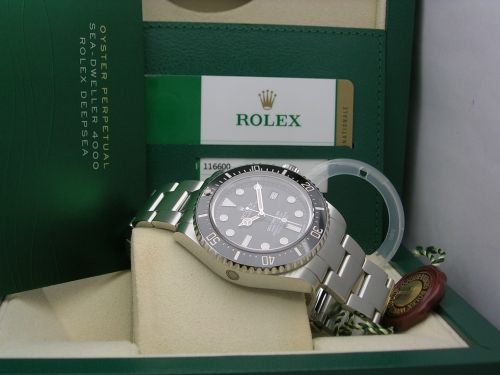 ROLEX SEADWELLER 4000 116600 2015