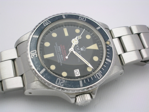 ROLEX SEADWELLER 1665 DOUBLE RED 1979 BOX/PAPERS