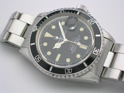 ROLEX SUBMARINER 1680 RED 1974