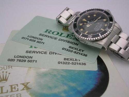 ROLEX SEADWELLER 1665 RAIL DIAL 1979