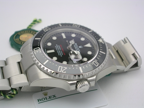 ROLEX SEADWELLER RED 126600 2017 MARK I NOS