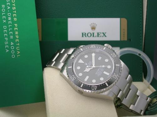 ROLEX SEADWELLER 4000 116600 2017