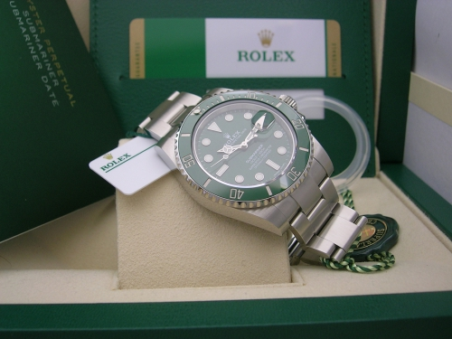 ROLEX SUBMARINER 116610LV 2019