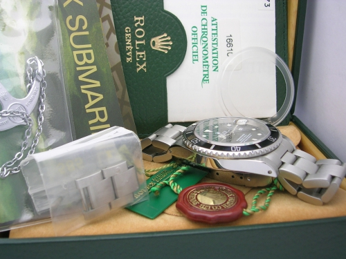 ROLEX SUBMARINER 16610 1998 SWISS ONLY