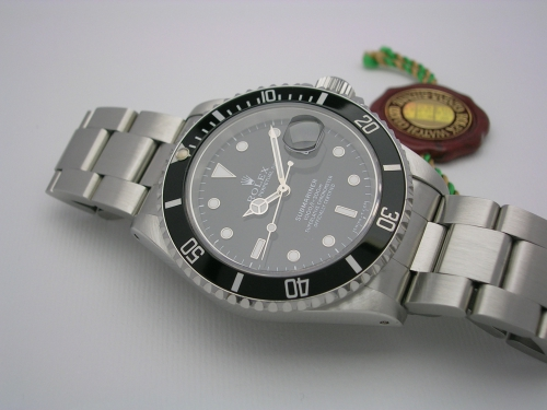 ROLEX SUBMARINER 16610 1995 TRITIUM
