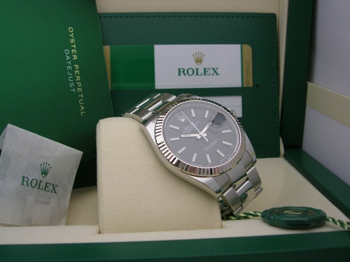 ROLEX DATEJUST II 126334 BLACK
