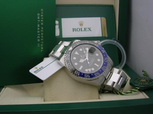 ROLEX GMT-MASTER II  116710BLNR 2016