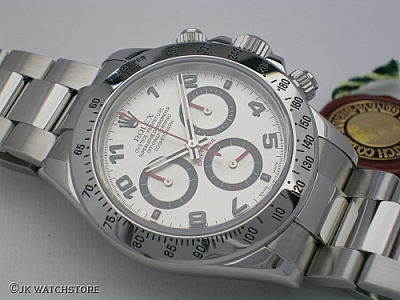 ROLEX DAYTONA 116520 RACING DIAL 2006