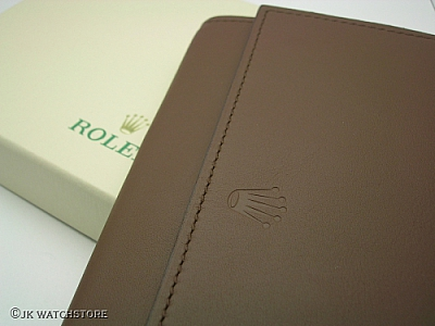 ROLEX TRAVEL POUCH FOR 3 WATCHES