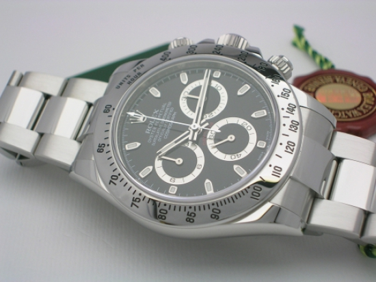 JK Watchstore, World of Rolex, ROLEX DAYTONA 116520 2013 BLACK DIAL