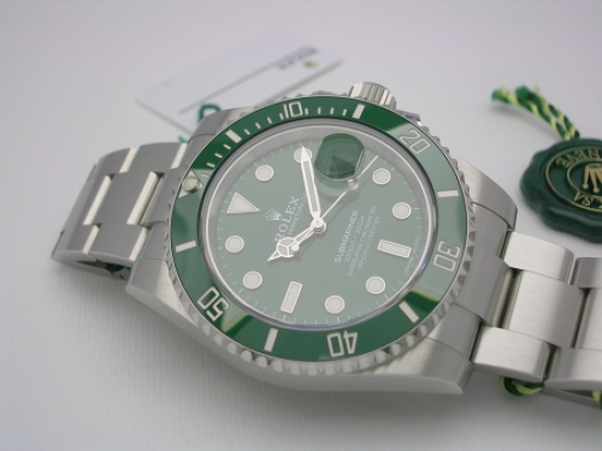 JK Watchstore, World of Rolex, ROLEX SUBMARINER 116610LV 2017