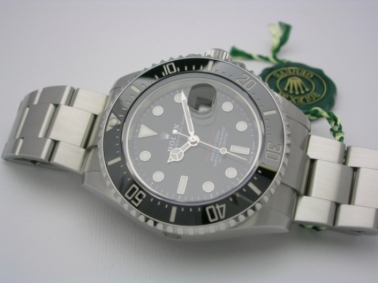 JK Watchstore, World of Rolex, ROLEX SEADWELLER RED 126600 2020