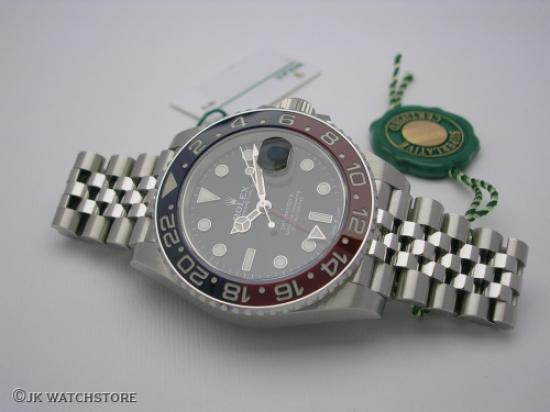 JK Watchstore, World of Rolex, ROLEX GMT-MASTER II  126710BLRO 2019