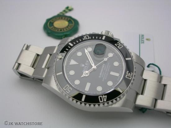 JK Watchstore, World of Rolex, ROLEX SUBMARINER 116610LN 2020