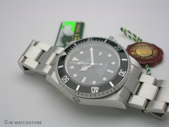 JK Watchstore, World of Rolex, ROLEX SEADWELLER 16600 2008