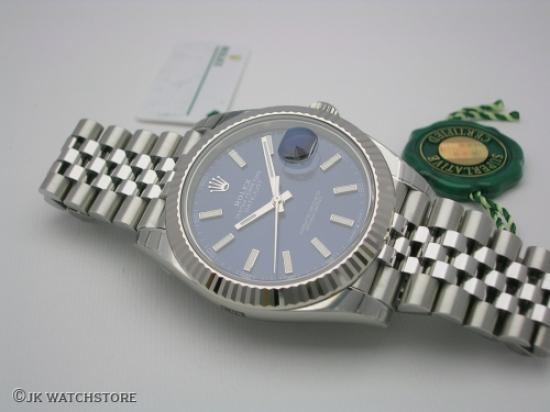JK Watchstore, World of Rolex, ROLEX DATEJUST II 126334 2020 BLUE DIAL