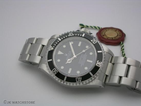 JK Watchstore, World of Rolex, ROLEX SUBMARINER NO-DATE 14060M 2010