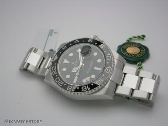 JK Watchstore, World of Rolex, ROLEX GMT-MASTER 116710LN 2017