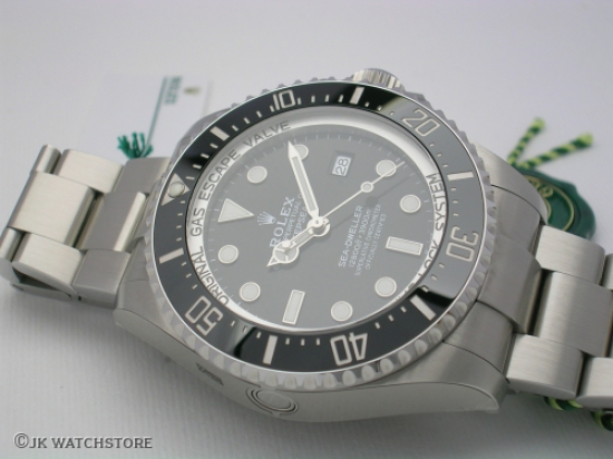 JK Watchstore, World of Rolex, ROLEX DEEPSEA 126660 2018