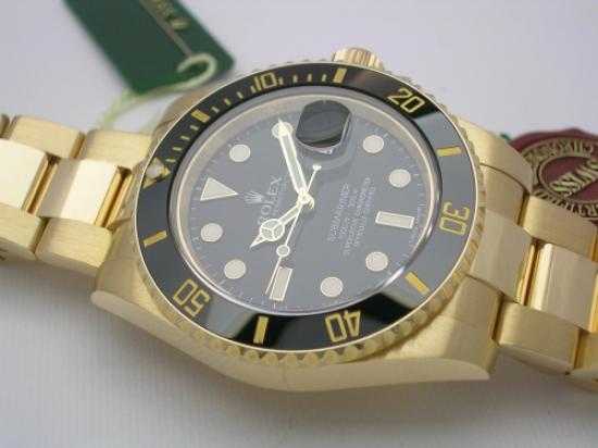 JK Watchstore, World of Rolex, ROLEX SUBMARINER 116618LN 2013