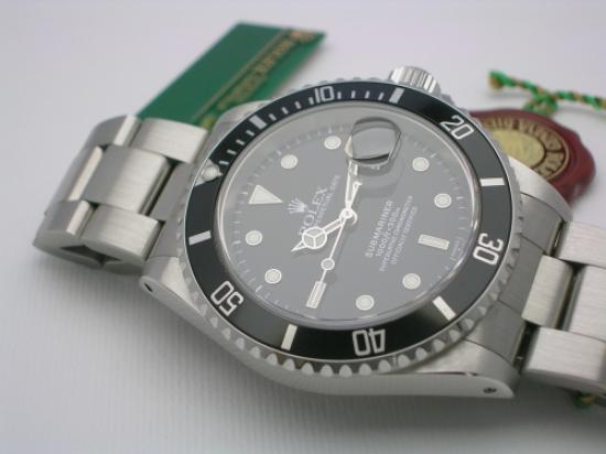JK Watchstore, World of Rolex, ROLEX SUBMARINER 16610 1998 SWISS ONLY