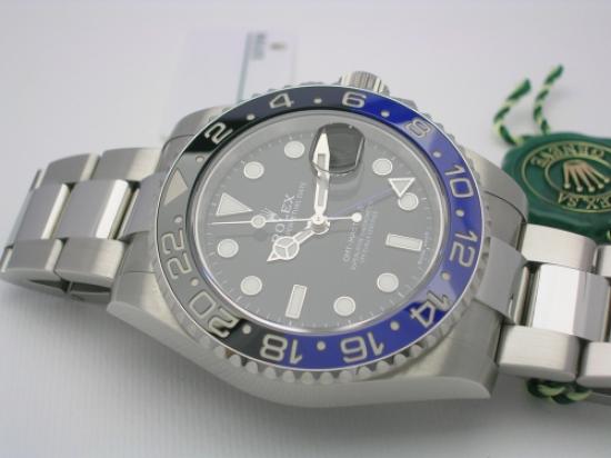 JK Watchstore, World of Rolex, ROLEX GMT-MASTER II  116710BLNR 2017