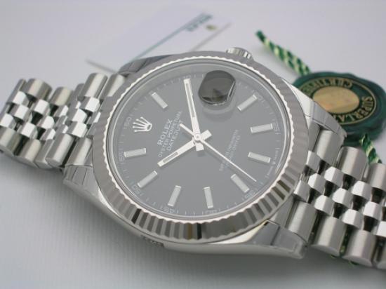 JK Watchstore, World of Rolex, ROLEX DATEJUST II 126334 BLACK