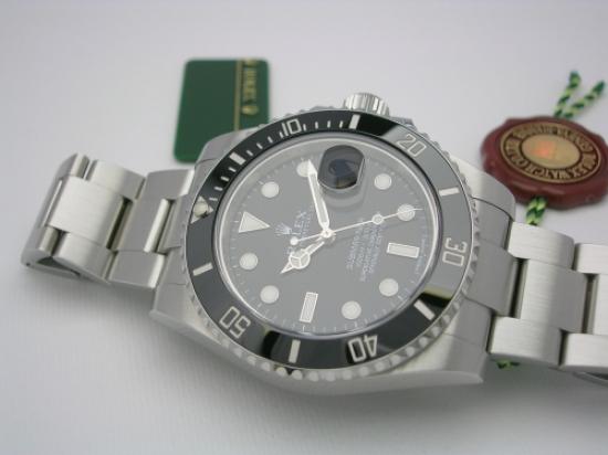 JK Watchstore, World of Rolex, ROLEX SUBMARINER 116610LN 2012